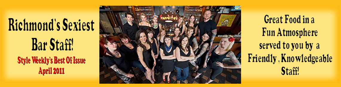 Banditos Burrito Lounge Sexiest Bar Staff
