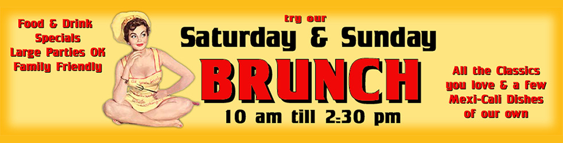 Banditos Burrito Lounge weekend brunch